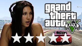 We Try To Escape 5 Stars In Grand Theft Auto 5