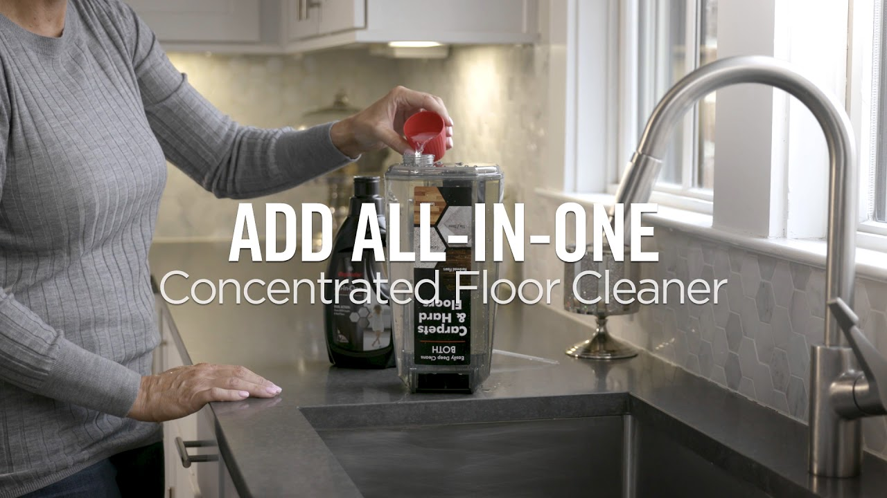 How To Get Started With The Rug Doctor Flexclean All In One Floor Cleaner