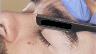 Oddly Satisfying Video to Relaxation #4  (- Straight Razor Shave -)