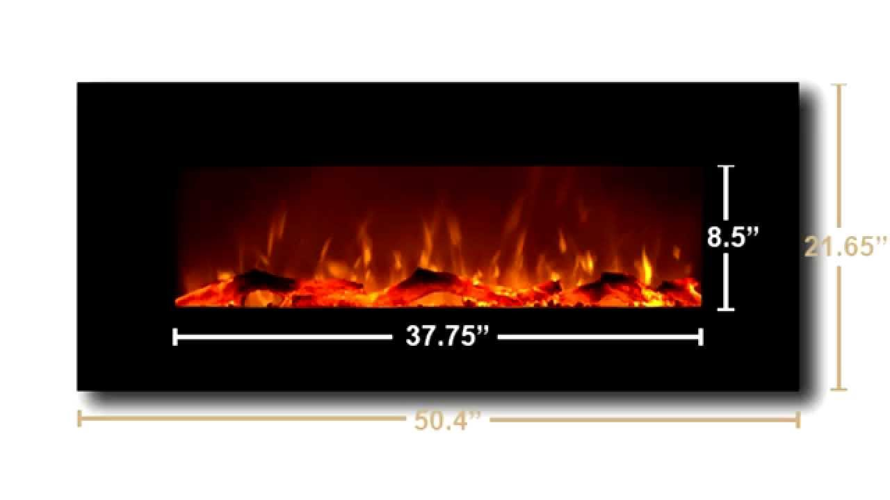 Onyx and Ivory Electric Fireplaces by Touchstone - YouTube
