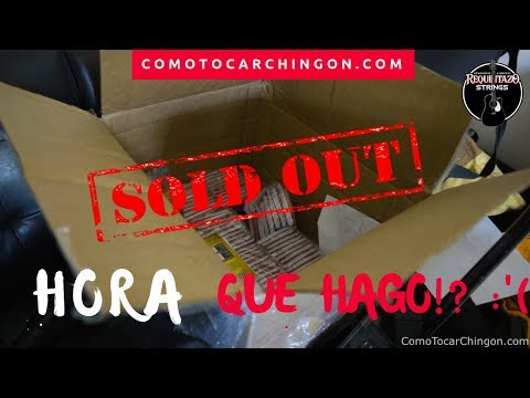 Requintazo Strings Sold Out!!! 😭😭