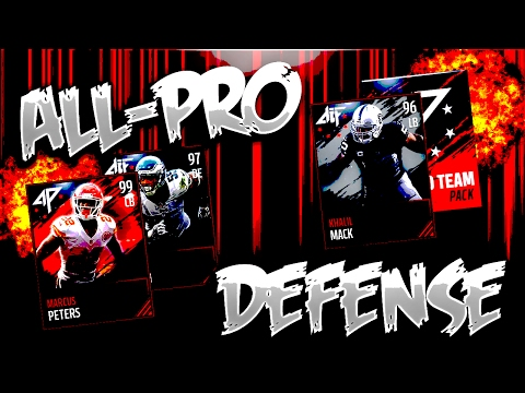 ALL-PRO DEFENSE!! 99 MARCUS PETERS!! TEAM UPDATE!!| Madden Mobile 17 | Pack Opening - #46