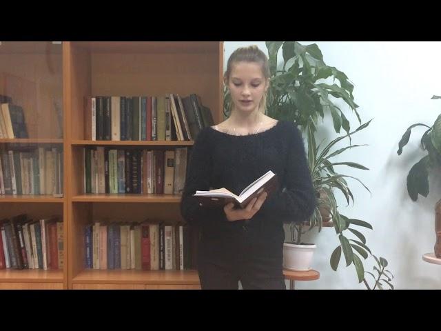 Изображение предпросмотра прочтения – ЕкатеринаЮшко читает произведение «Как хороши, как свежи были розы ...» И.С.Тургенева