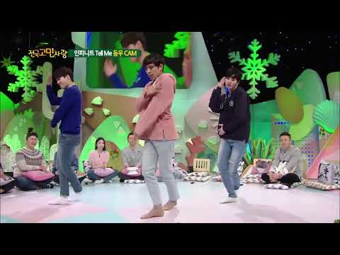 180205 INFINITE dance Tell Me at Hello Counselor