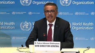 WHO chief regrets US decision to halt funding