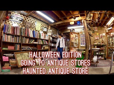VLOG HALLOWEEN EDITION | HAUNTED ANTIQUE STORE | GIRLS DAY O