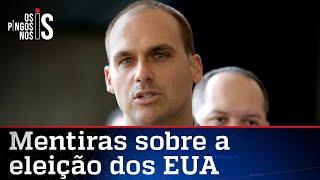 Eduardo Bolsonaro desfaz fake news da imprensa