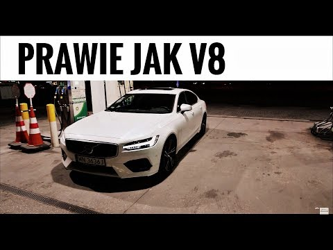 2018 Volvo S90 T6 Polestar AWD Prawie V8 LEDY Test PL