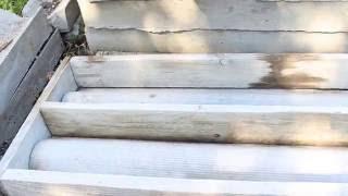 видео лоток водоотводный бетонный