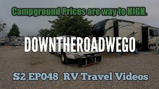 RV Travel Videos - Evanston, Wy to Cheyenne Wy - S2 EP048