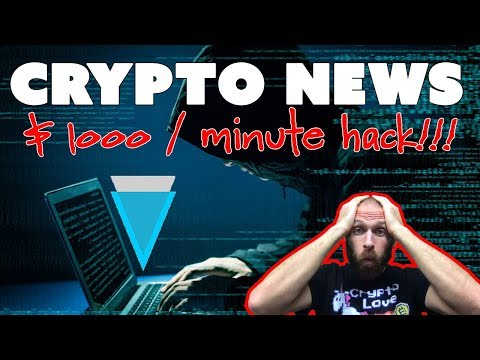 Happy Bitcoin Pizza Day!!! Verge Hacked (...again)