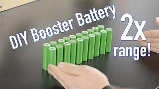 Xiaomi M365 Battery Upgrade