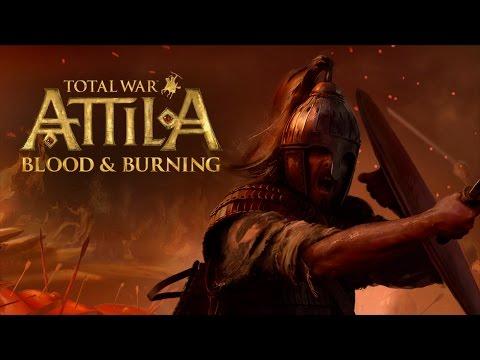 Total War Attila DLC Blood & Burning (Кровь и горение) |