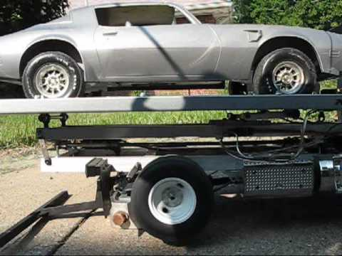 rc rollback tow truck youtube. Black Bedroom Furniture Sets. Home Design Ideas