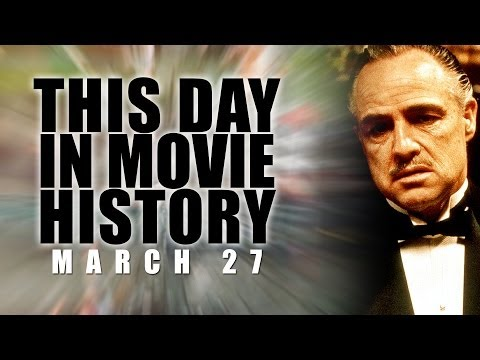 This Day In Movie History - The Godfather: March 27, 1973 - Film Fact HD