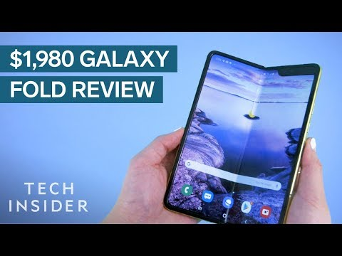 $1,980 Samsung Galaxy Fold Review