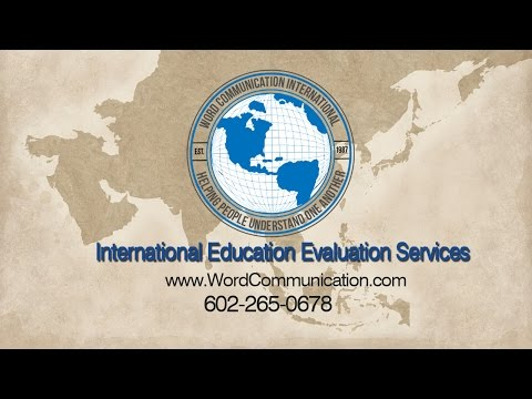 International Transcript Evaluation Companies And Foreign Degree Services