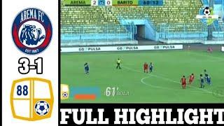 Download Video Arema FC vs Barito Putera 3-1 Highlight gojek liga 1 2018 MP3 3GP MP4