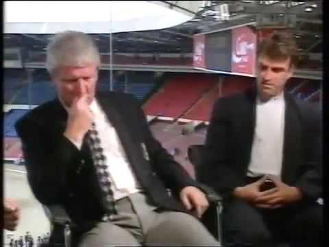 EVERTON FC - BRIAN LABONE & KEVIN RADCLIFFE INTERVIEW PRE FA CUP 1995