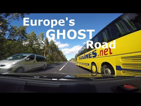 Europe's Ghost Road Adventure for Travellers on Latvia's A1 from Riga to Tallinn (No Audio)