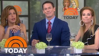 John Cena: 'I Can Hop On A Plane' To Walk Meghan Markle Down The Aisle | TODAY