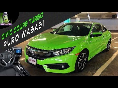 Honda Civic Coupé Sin turbo no hay paraiso