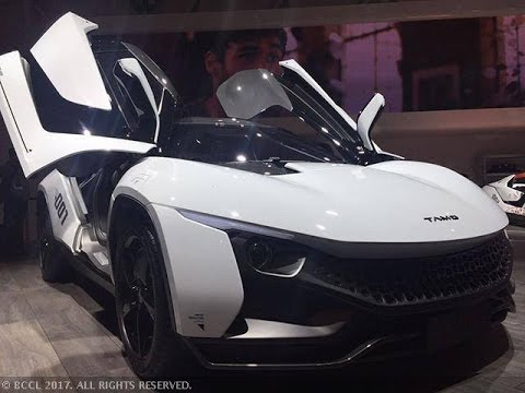 India's First Supercar By TATA MOTORS - YouTube