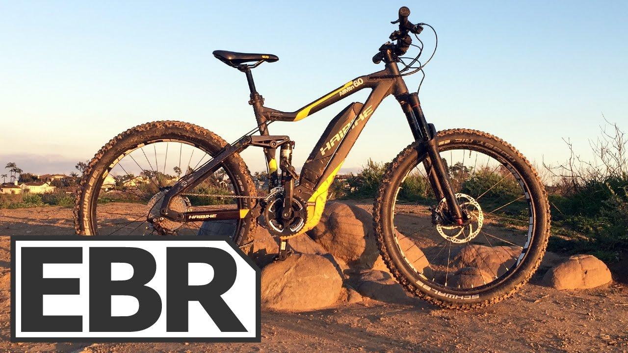 Haibike SDURO AllMtn 6 0 Video Review - Yamaha Powered Electric Mountain  Bike