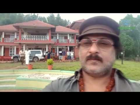 Crazy Star V. Ravichandran at Upasana