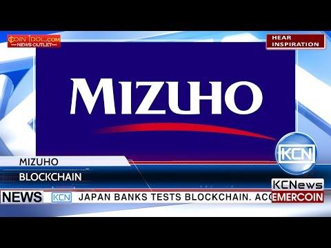 KCN Mizuho bank tests blockchain trade finance