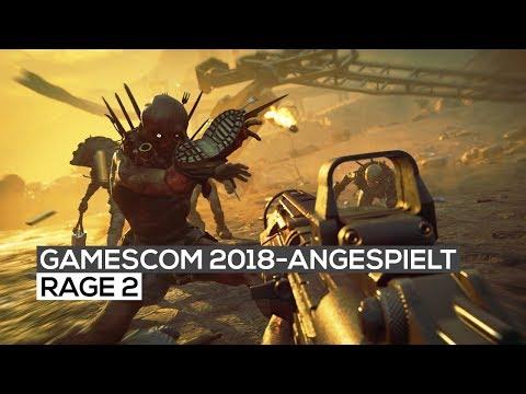 RAGE 2 - Exklusives Gameplay | gamescom 2018