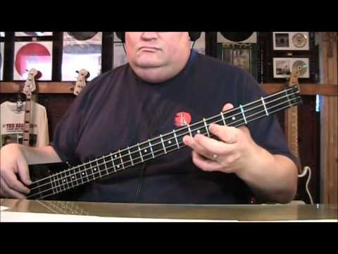 Paul McCartney & Wings Let Me Roll It Bass Cover with Notes and Tabs