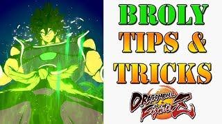 Dragon Ball FighterZ - DBS Broly Tips & Tricks