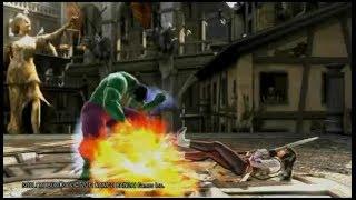 SOULCALIBUR V - Jenn vs The Hulk