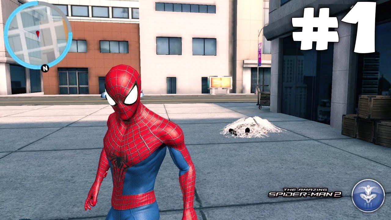 Örümcek Adam ile Yeni Görevlere Çıkıyoruz! The Amazing Spiderman 2 Birinci Bölüm