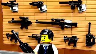 ЛЕГО Мультики про Полицию / ОГРАБЛЕНИЕ ОРУЖЕЙНОГО Магазина  LEGO