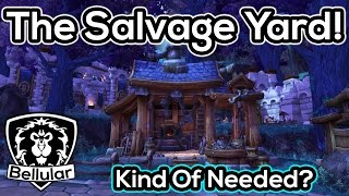 Salvage Yard Preview/Gameplay - Kinda Cool - Warlords of Draenor Beta