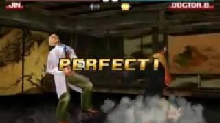 Tekken 3 - Dr. Boskonovitch - Arcade - Untouchable