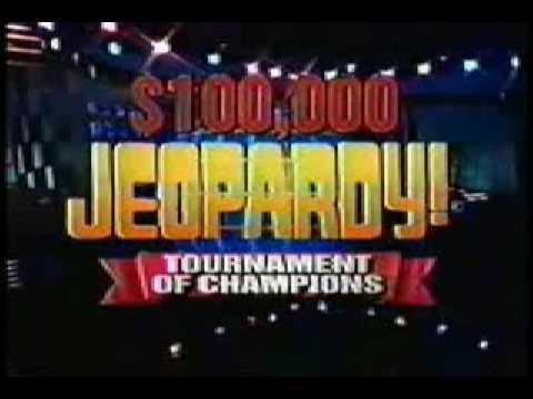 Jeopardy! Tournament Theme (1995-1996)