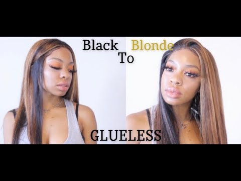 SNATCH & GO GLUELESS WIG: Dirty Blonde Tutorial thumbnail