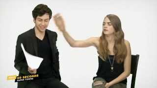 Max 60 Seconds with Paper Town's Cara Delevingne (Cinemax)