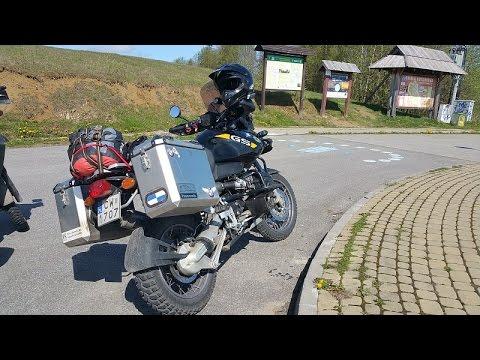 Motocyklem w Bieszczady 2016 / Polish Bieszczady Mountains on a motorbike part 2 of 2