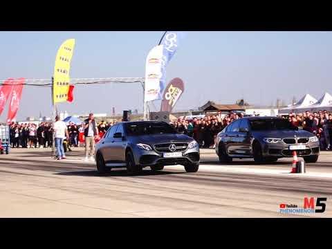BMW M5 F90 600HP  Vs Mercedes-Benz AMG E63 S - 750HP DRAG RACE
