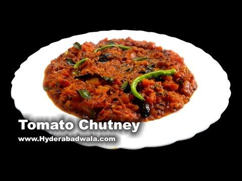 Tamate Ki Chutney Recipe Video – Hyderabadi Tomato Curry – Easy, Simple & Quick Cooking