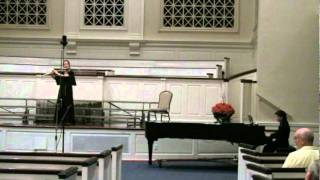 """O Lord My God"" for flute and piano by Johann Kim"