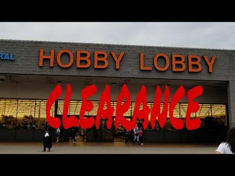 MEGA Hobby Lobby Haul. 75% clearance. I did it again 😁