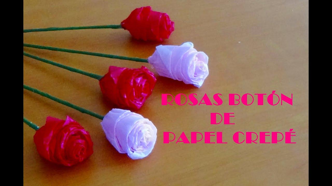 Tutorial rosas boton crep youtube - Videos de como hacer crepes ...