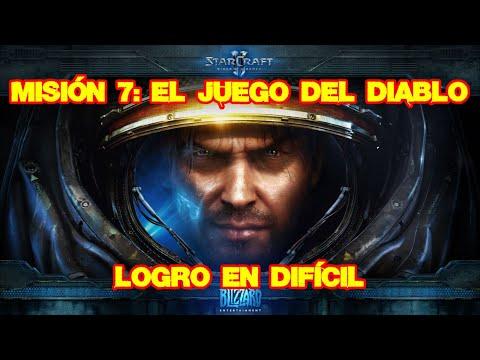 StarCraft 2: Wings of Liberty [Misión 7] El juego del diablo [Logros en difícil] [HD] [1080p]