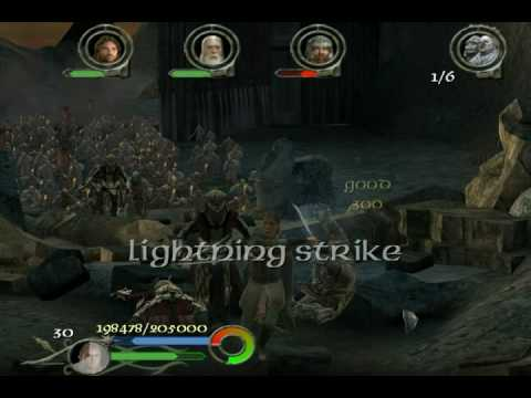 Cheats LOTR the Return of the King (PC) - YouTube