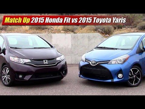 Perfect New 2015 Honda Fit Vs Chevy Sonic Kia Rio Toyota Ya